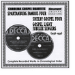 Carolina Gospel Quartets (1938-1939)