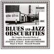 Blues & Jazz Obscurities (1923-1931)