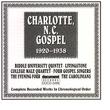 Charlotte, N.C. Gospel (1920-1938)