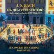 J. S. Bach: Les 4 ouvertures