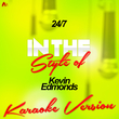 24/7 (In the Style of Kevin Edmonds) [Karaoke Version] - Single